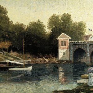Afternoon at Argenteuil by Thomas Kinkade