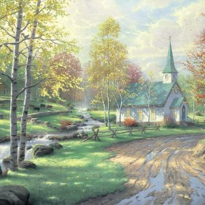 thomas-kinkade-church