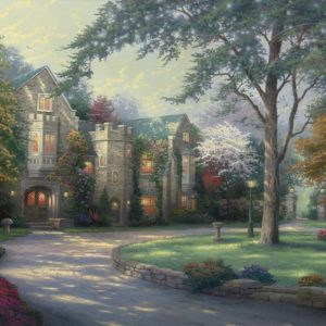 Beyond Summer Gate by Thomas Kinkade