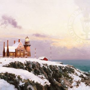 Block Island by Thomas Kinkade