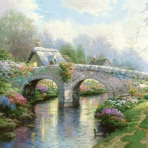 Blossom Bridge by Thomas Kinkade