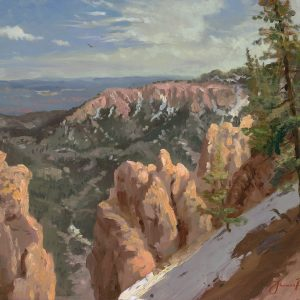 Bryce National Park by Thomas Kinkade