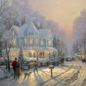 Holiday Gathering by Thomas Kinkade