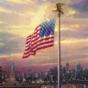 Light of Freedom by Thomas Kinkade