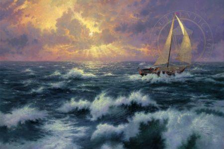 Perseverance by Thomas Kinkade