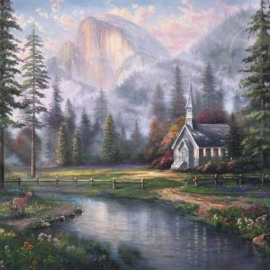 church-yosemite-mountain