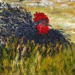 rooster-original-oil-painting-texture