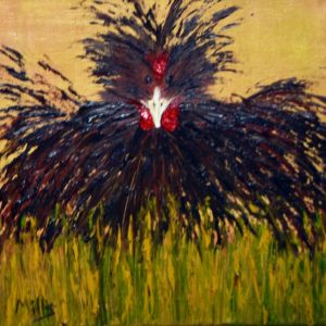 rooster-original-oil-painting-brown