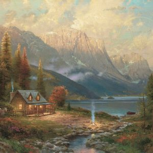 Beginning of a Perfect Day by Thomas Kinkade