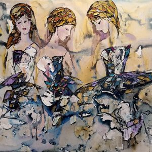 ballerinas-original-painting