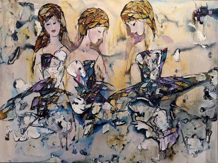ballerinas-original-painting