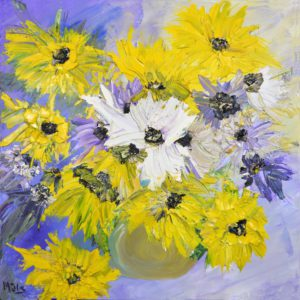 original-painting-yellow-flowers