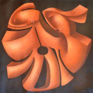 original-oil-sculptural-painting
