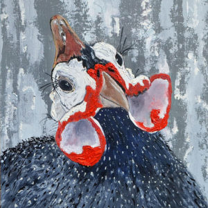 hen-original-oil-textured
