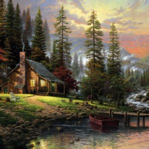 Peaceful Retreat by Thomas Kinkade